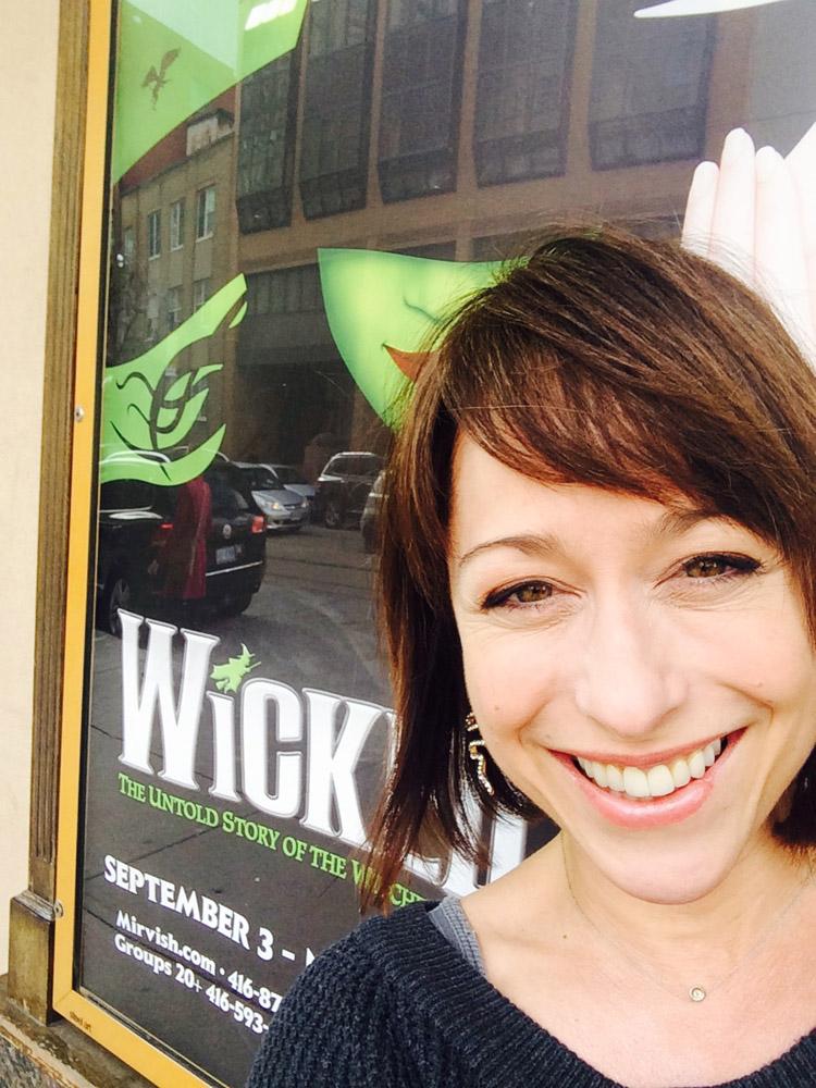 Paige Davis - Wicked on Broadway